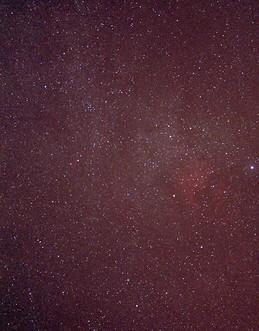 North America Nebula and Surrounding Nebula