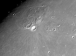Vallis Schroteri on the Moon