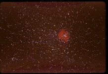Rosette Nebula and Surrounding Star Field