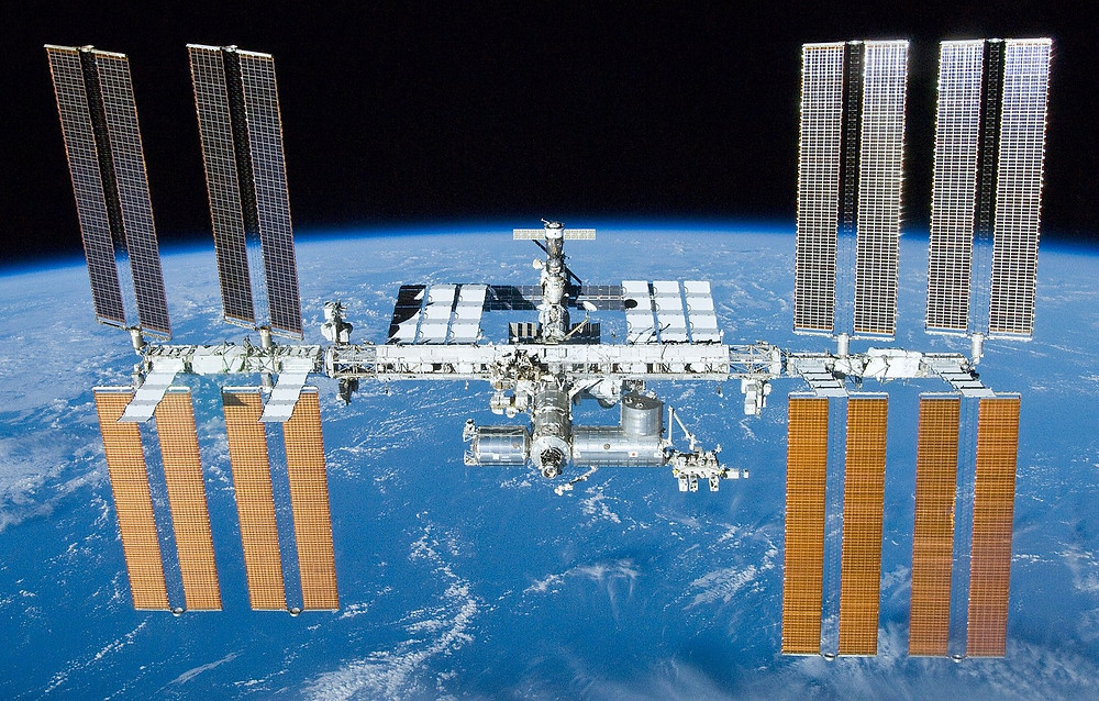 ISS after the undocking of the STS-132