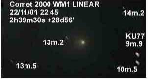 Comet WM1 2000 LINEAR