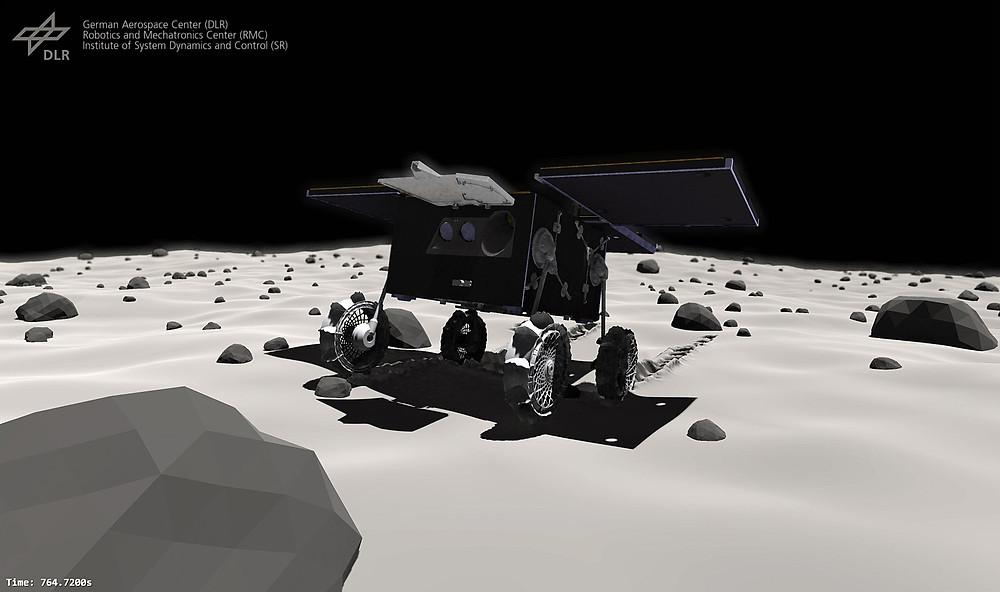 The Phobos Rover