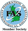 Federation of Astronomical Societies Member Society logo