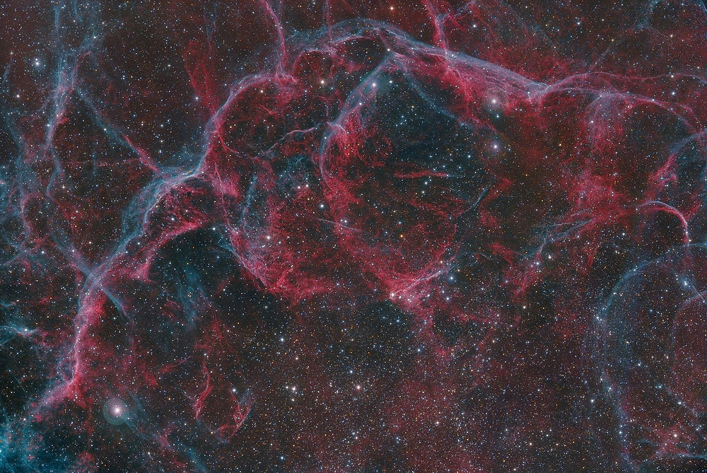 Vela Supernova Remnant (one of the largest x-ray features in the sky)