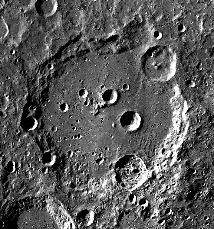 Clavius Crater (south up)