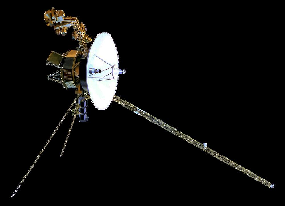 Model of Voyager Spacecraft