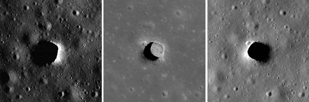 Marius Hills Pit (a 'skylight' possible landing sight for the mission)