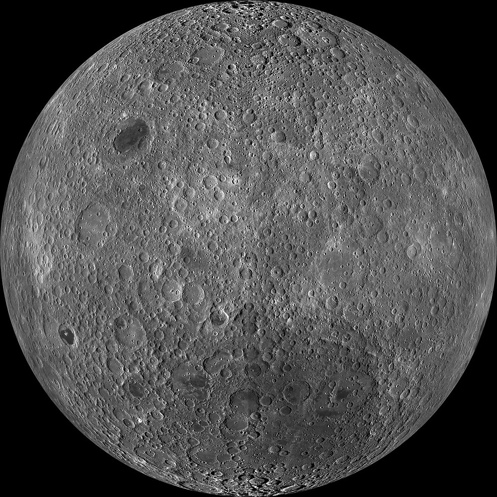 Far Side of Moon by Lunar Reconnaissance Orbiter (LRO)