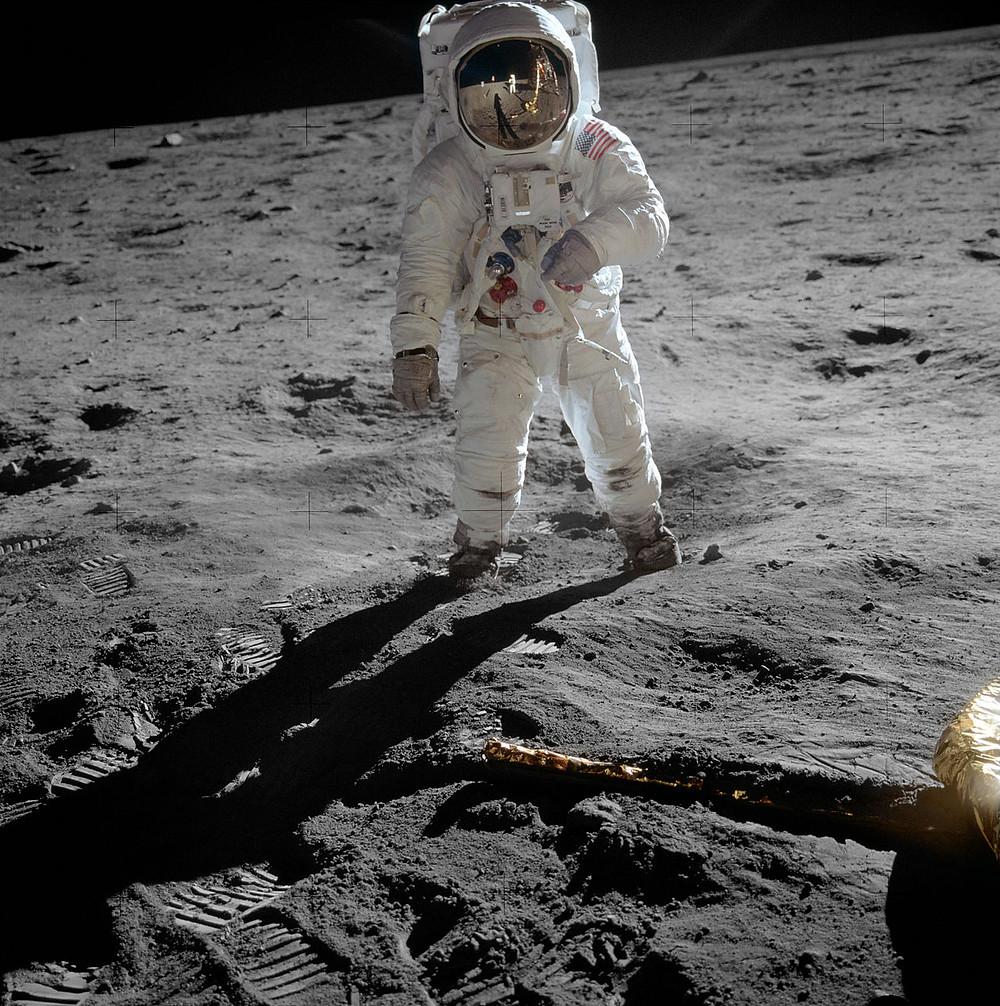 Buzz Aldrin on the Moon as part of Apollo 11