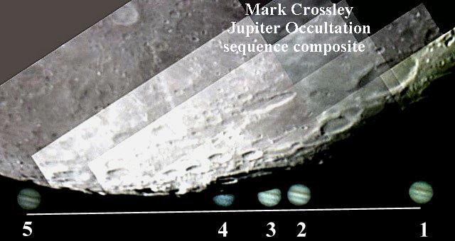 © Mark Crossley, Jupiter Occltation