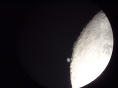 Occultation of Jupiter by the Moon 27/1/2002