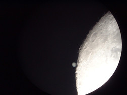 Occultation of Jupiter by the Moon