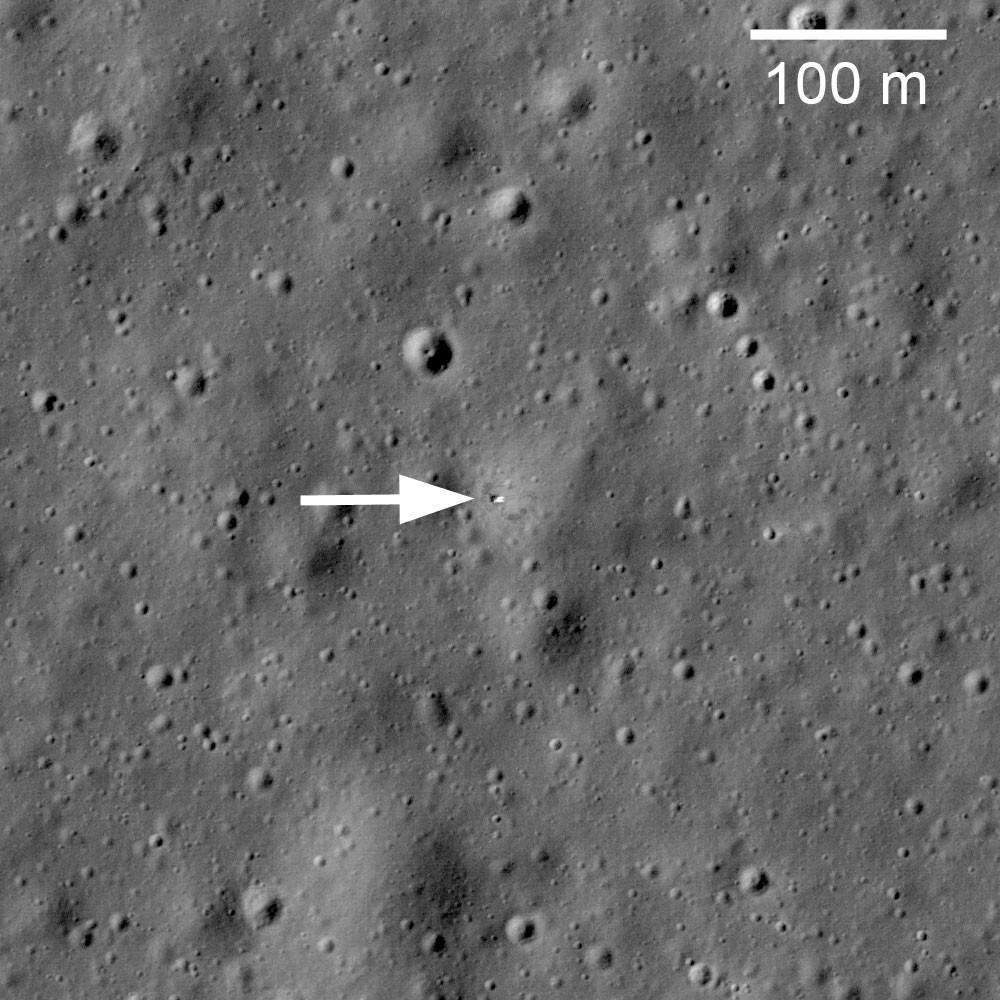 Lunkhod 1 from the Lunar Reconnaissance Orbiter