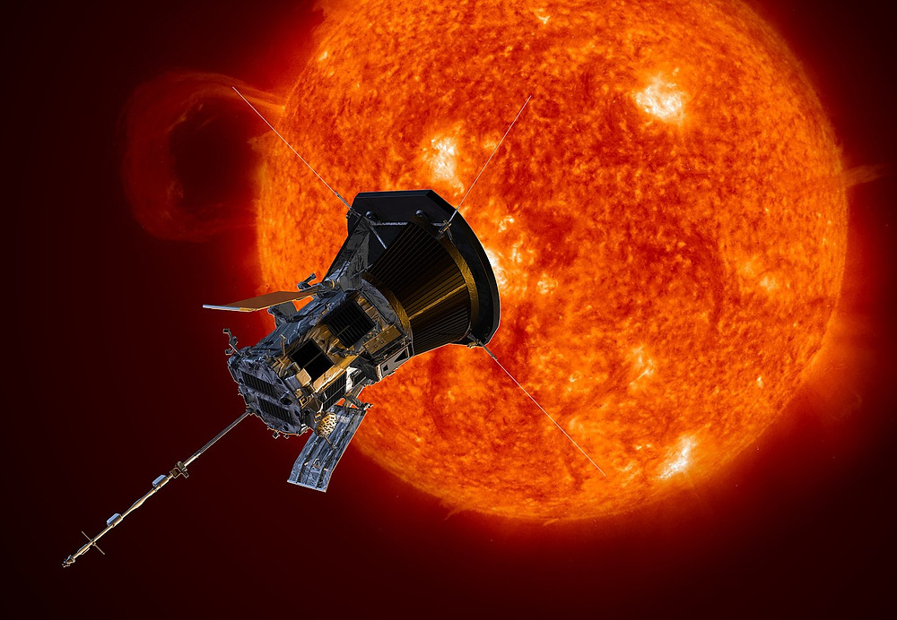 Artist Impression of the Parker Solar Probe.