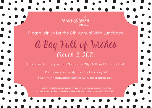 Annual Make-A-Wish Luncheon and Purse Auction