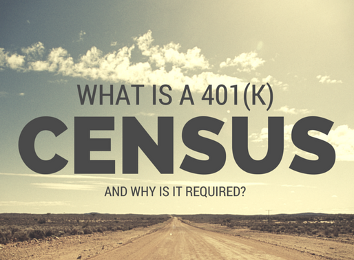 Census Data Collection for Qualified Plans