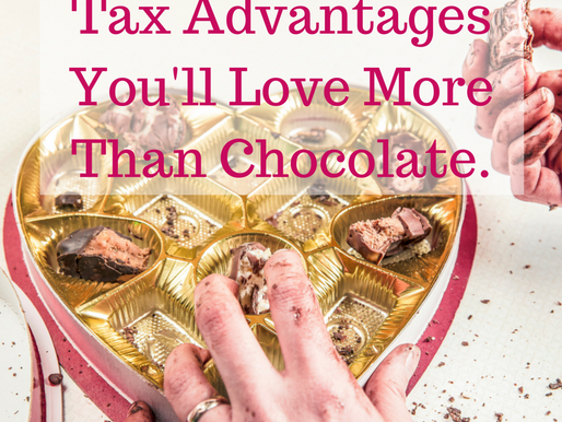 Tax Advantages You'll Love More than Chocolate