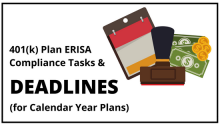 Compliance and Administrative Deadlines to Remember