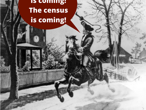 The Census is Coming!