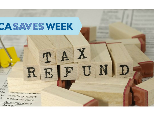 America Saves Week – Save Your Refund