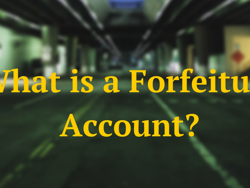 What is a Forfeiture Account?