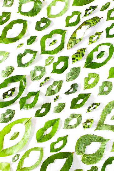 LEAF LIPS - ALL GREEN