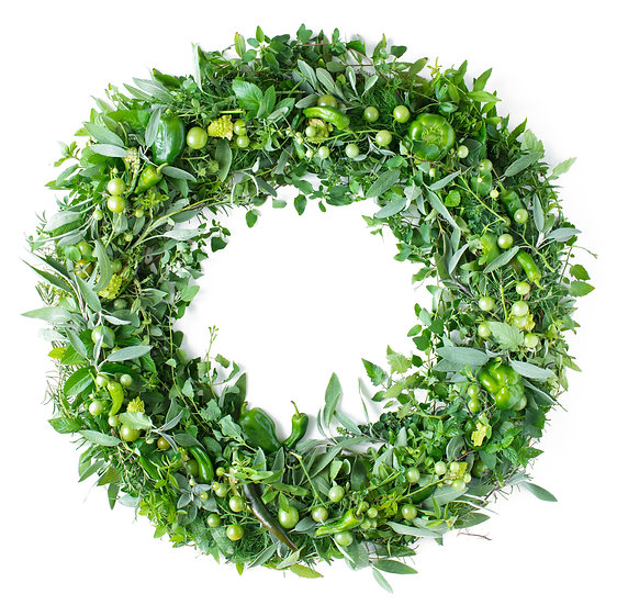 GREEN WREATH - IMAGE DOWNLOAD