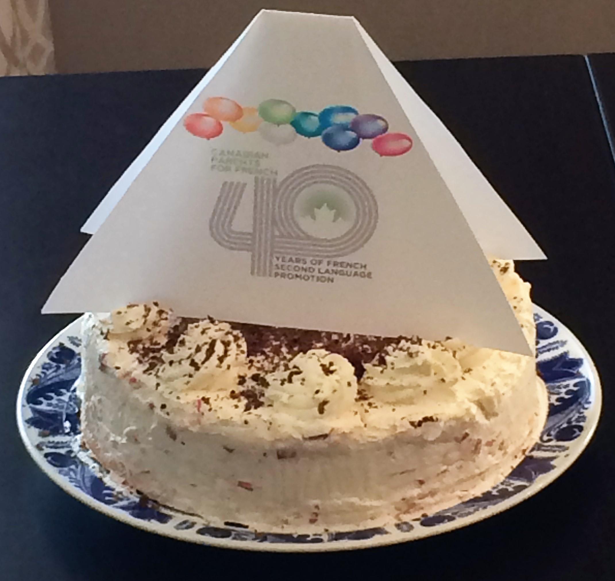 Cake 40 yrs AGM 2017