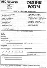 85 coupe order form 1