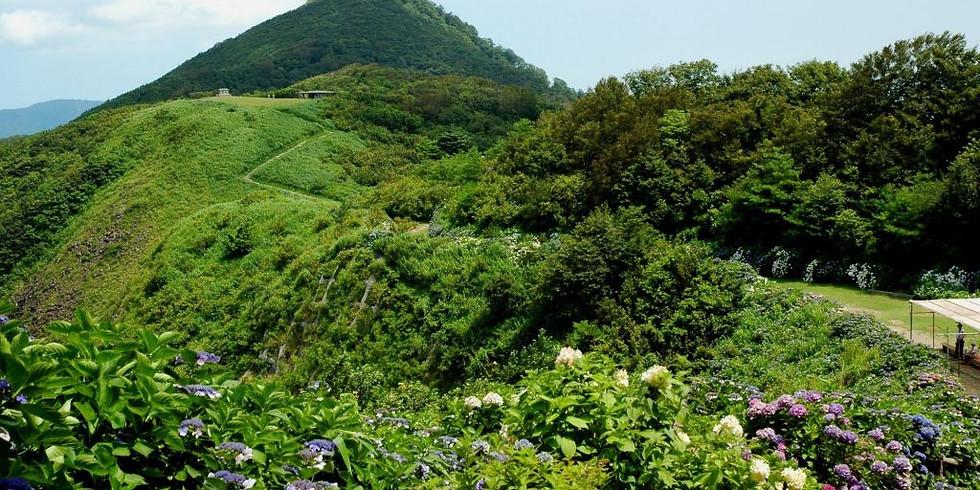 弥彦山・角田山 フラワートレッキング (1)