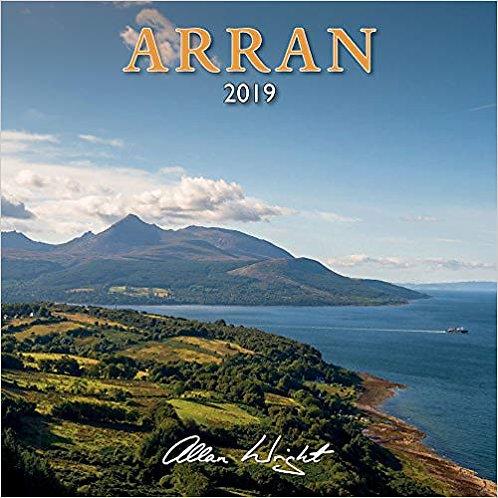 Allan Wright 2019 Arran Calendar