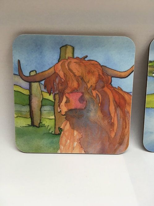 Emma Ball Arran Coasters (Set of 4)