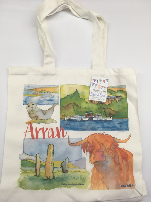 Emma Ball Arran Tote Bag