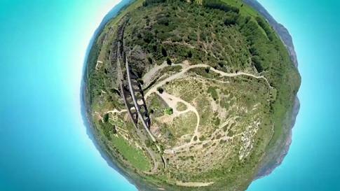 Via Verde Ojos Negros-Drone