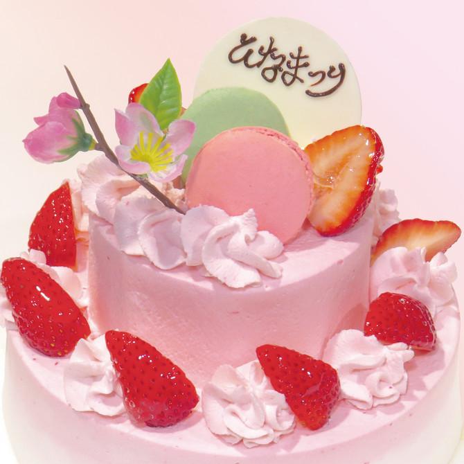 ひなまつりケーキ予約受付中!