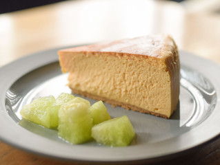 BROWN CAFEのくちどけチーズケーキ