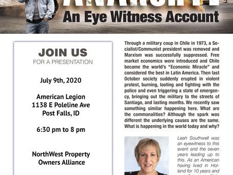 Anarchy: An Eye Witness Account