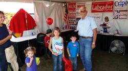 Ron Mendive at Kootenai County Fair