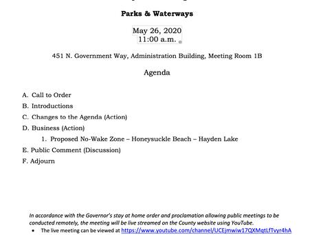 More Proposed No Wake Zones