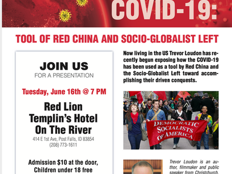 COVID-19: Tool of Red China and Socio-Globalist Left