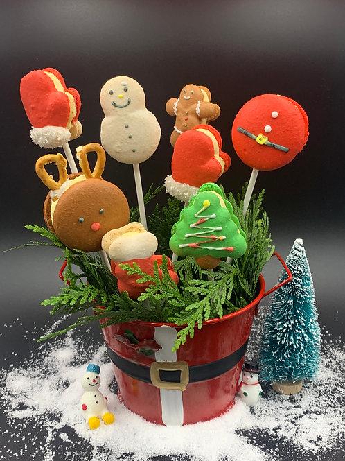 Christmas basket (8pcs)