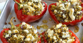 SUPER EASY ROASTED PEPPERS THAT THE WHOLE FAMILY WILL ENJOY (Vegetarian)