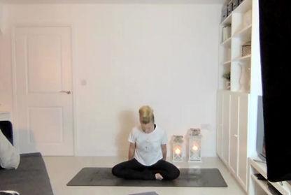 Perfect Pose Yoga online Zoom yoga classes.