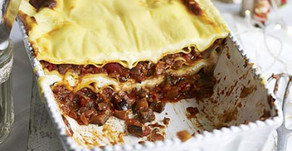 TRIPLE CHEESE & AUBERGINE LASAGNE