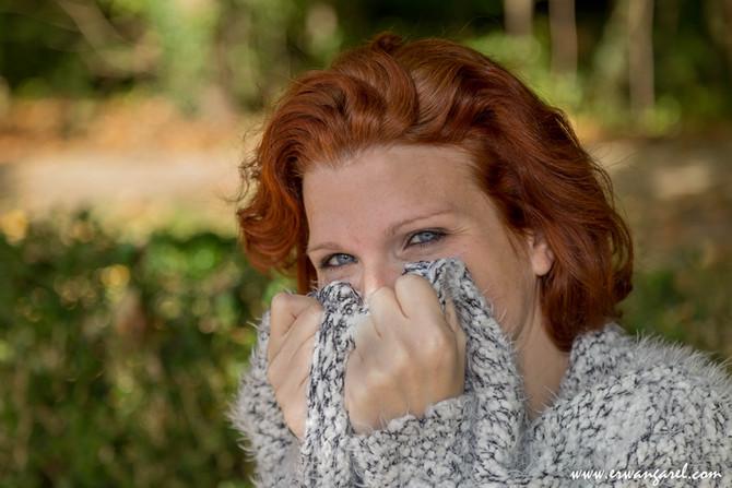 Shooting portrait aux couleurs de l'automne...