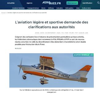 Aérobuzz.fr mai 2020