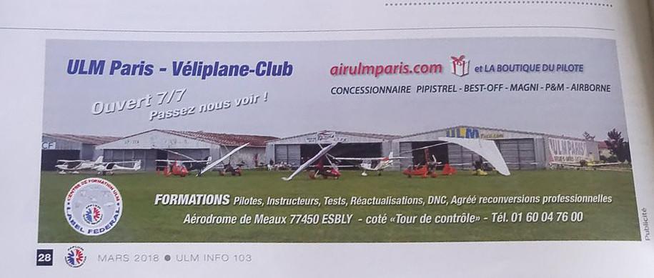 Publicité Ulm Paris