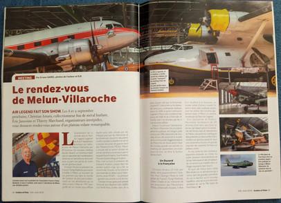 Aviation et Pilote août 2018