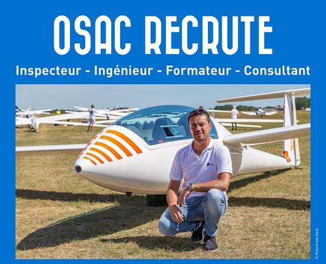 Campagne recrutement OSAC septembre 2019