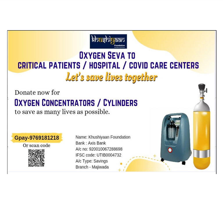 Oxygen Seva for Covid Patients in India Bikeathon